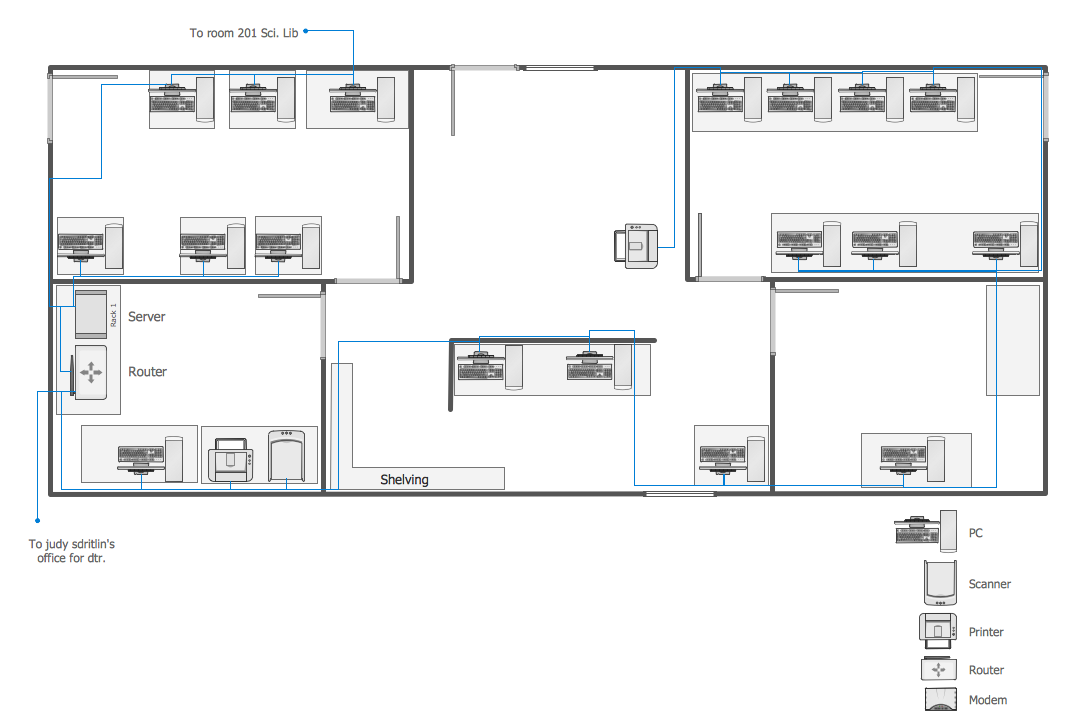 Ethemet Cable Layout Floor Plan Design Floor Plans Server Room