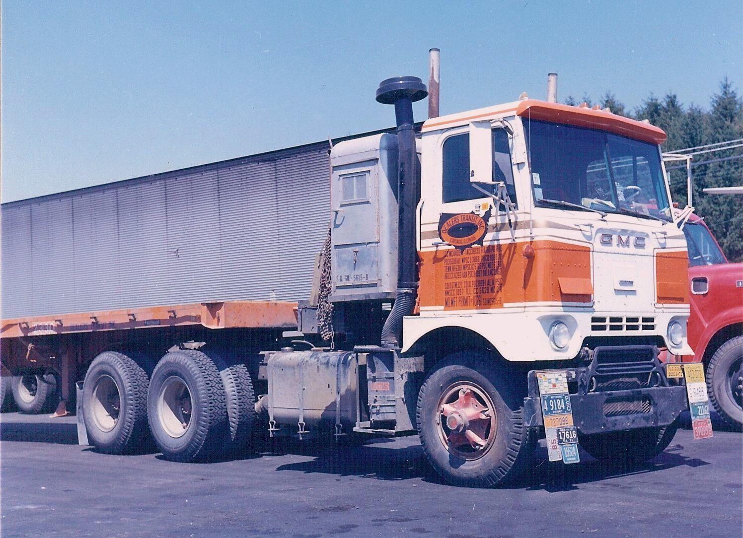 Gmc Cracker Box With Sleeper Trucks Big Trucks Vintage Trucks