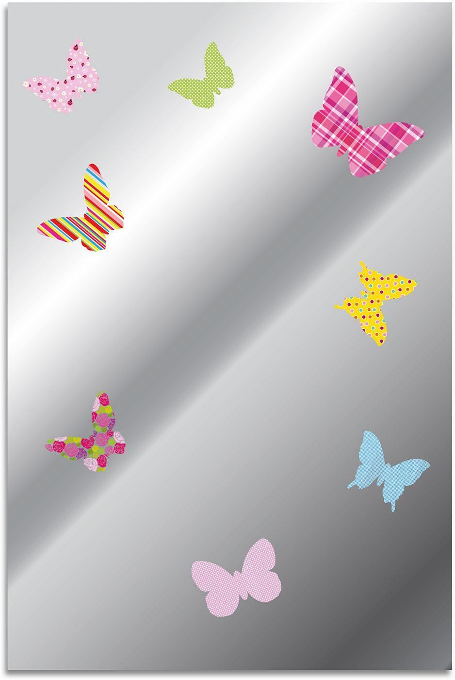 Artikeldetails:  Spiegel, Inklusive rückseitiger Aufhängung, Maße (B/H/T): 40/60/0,5 cm,  Material/Qualität:  Glas,  ...