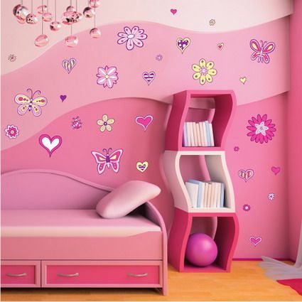 Girls Bedroom Decorating Ideas Small Room For Little Girl With