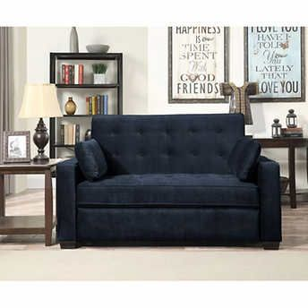 Magnificent Westport Fabric Sleeper Sofa Navy Blue New House Sofa Forskolin Free Trial Chair Design Images Forskolin Free Trialorg