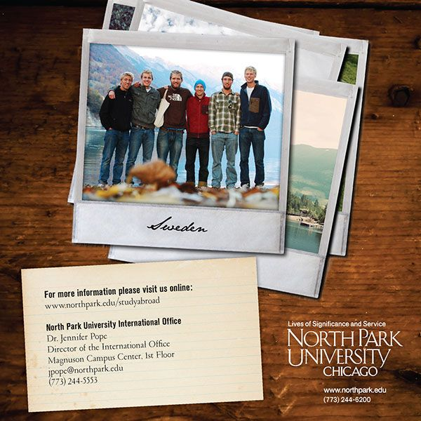 This brochure is for North Park University\u0027s Study Abroad program