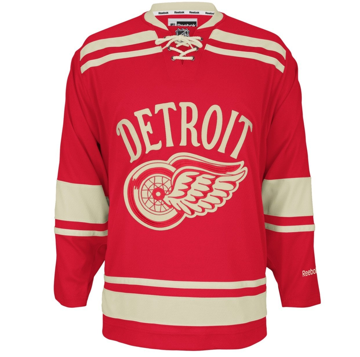 Detroit Red Wings Premier Adidas NHL Home & Road Jerseys