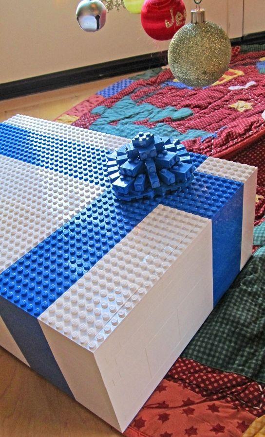 11 Creative Gift Wrap Ideas Cool Mom Picks Lego Gift Box Lego Gifts Creative Diy Gifts