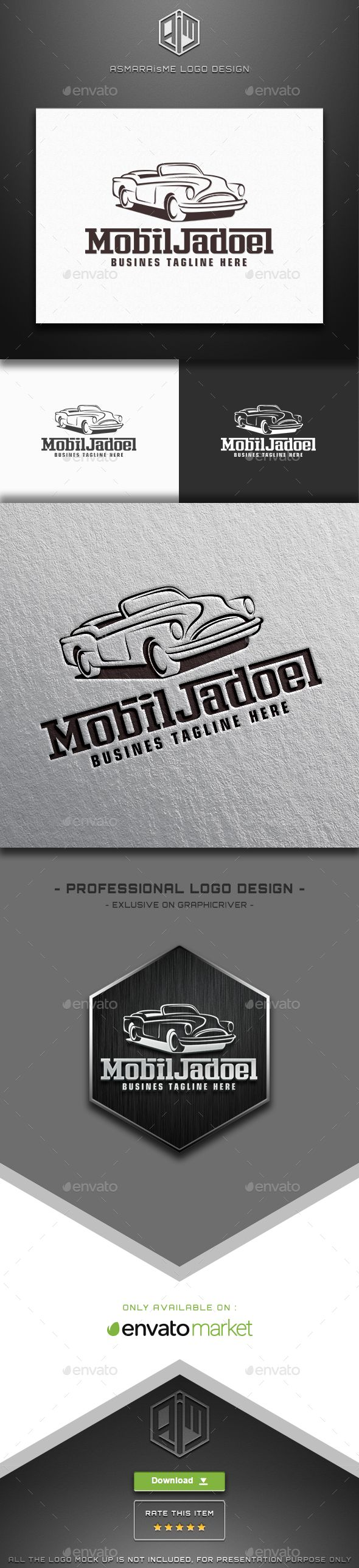 Mobil Jadoel - Vintage Car Logo | Car logos, Logos and Vector file