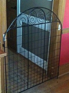 Lightweight Decorative Fencing Panel Used As Small Pet