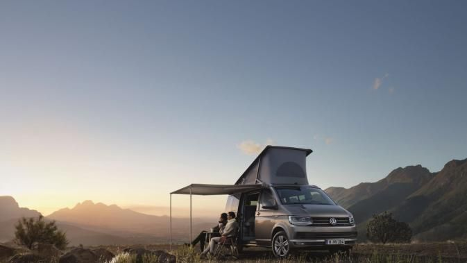 The fourth-generation Volkswagen California
