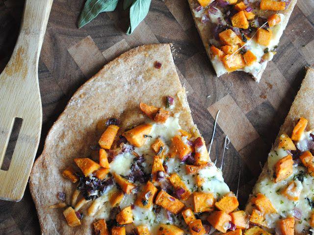 Simply Irresistible: Sweet Potato Flatbread