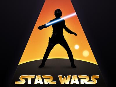 Star Wars Luke Skywalker Silhouette Luke Skywalker Luke