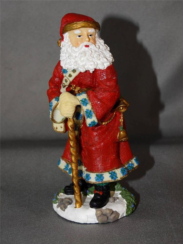 Babbo Natale Italy.The International Santa Claus Collection Babbo Natale Italy Figurine