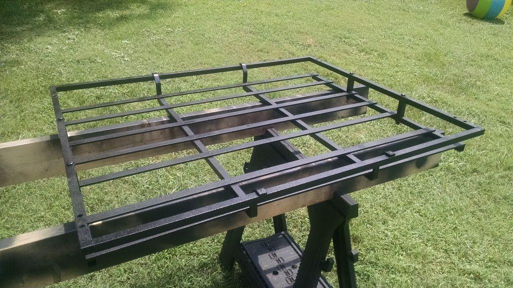 How To Josx2 S No Weld Diy Roof Rack Second Generation Nissan Xterra Forums 2005 Roof Rack Diy Truck Bedding Diy Rack