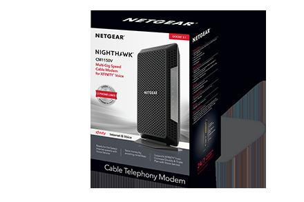 Netgear XFINITY X1 DOCSIS 3.1 Voice Cable Modem Cable