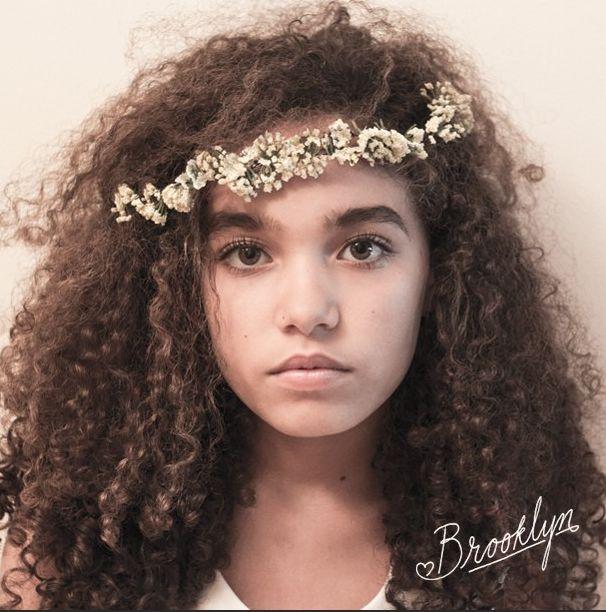 Natural hair, DIY crown, Secret garden, Fairy Garden ...