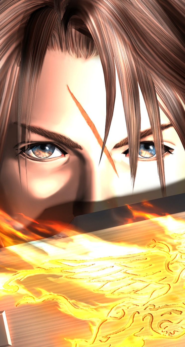 Squall Leonhart Final Fantasy Art Final Fantasy Tattoo Final