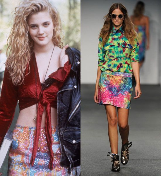 Latest Fashion News Red Carpet Catwalk Photos 1990s 90s Fashion And Icons