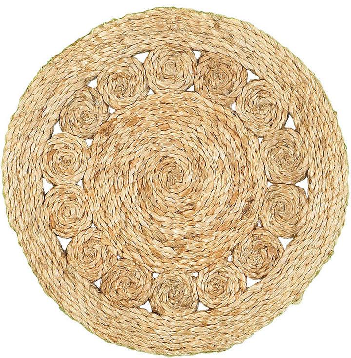 LR Home Natural Natural Jute Circlet Placemats - Set of