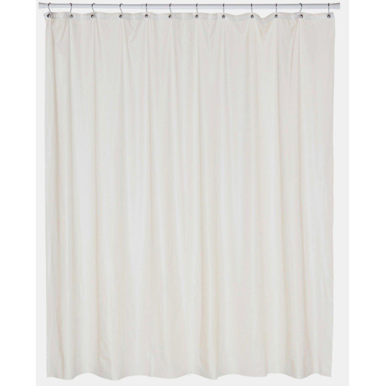 Carnation Home Fashions Peva Shower Curtain Liner Vinyl Shower
