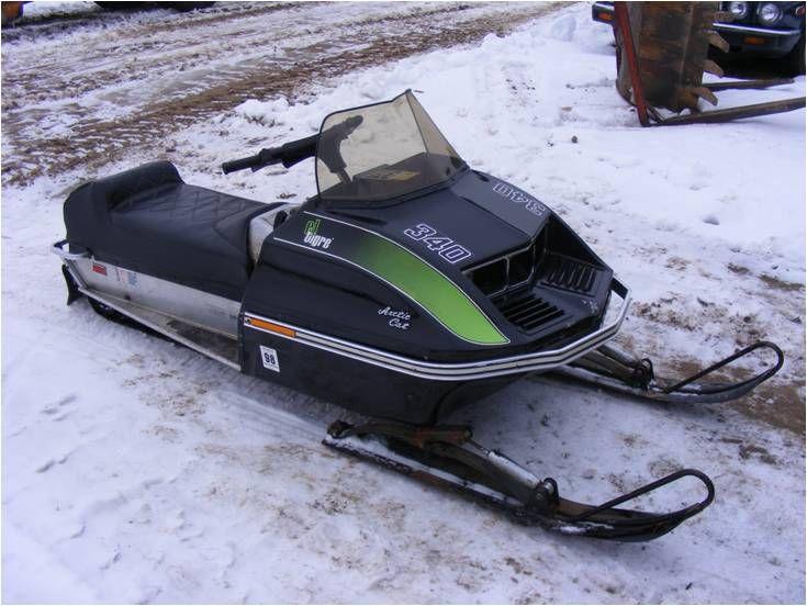 Arctic Snowmobiling   ... Arctic Cat El Tigre 340 ...