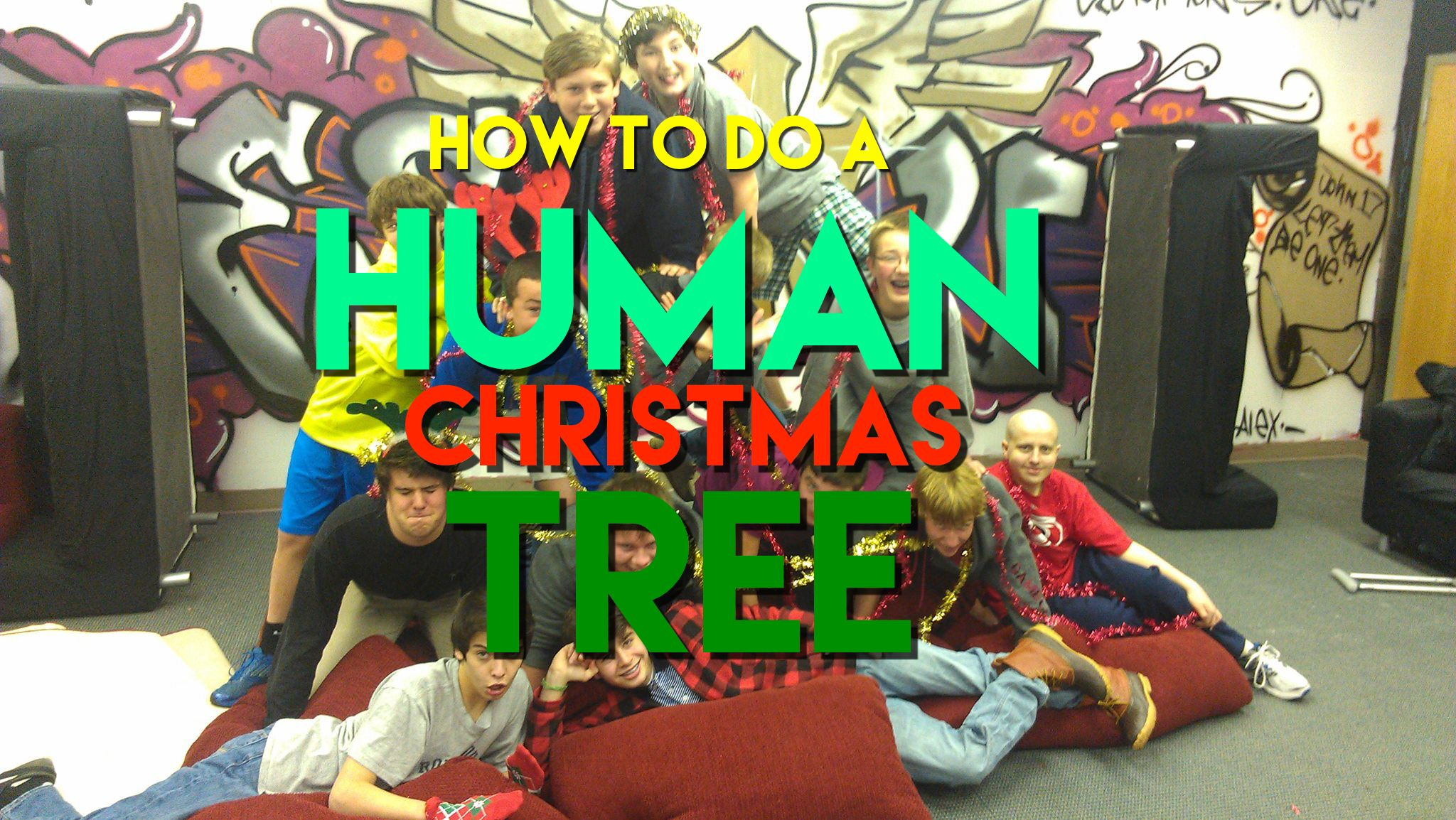 Free Christmas Youth Group Game Human Christmas Tree Christmas Youth Group Christmas Youth Christmas Youth Group Games