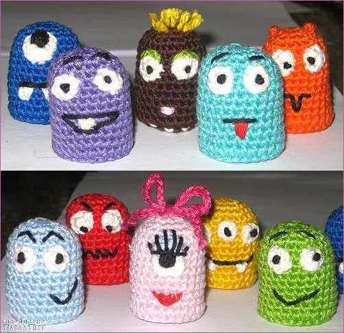 Natas Nest: Halloweeeeen - Mini Monsters & Creepy Eyes! | Horgolás ...