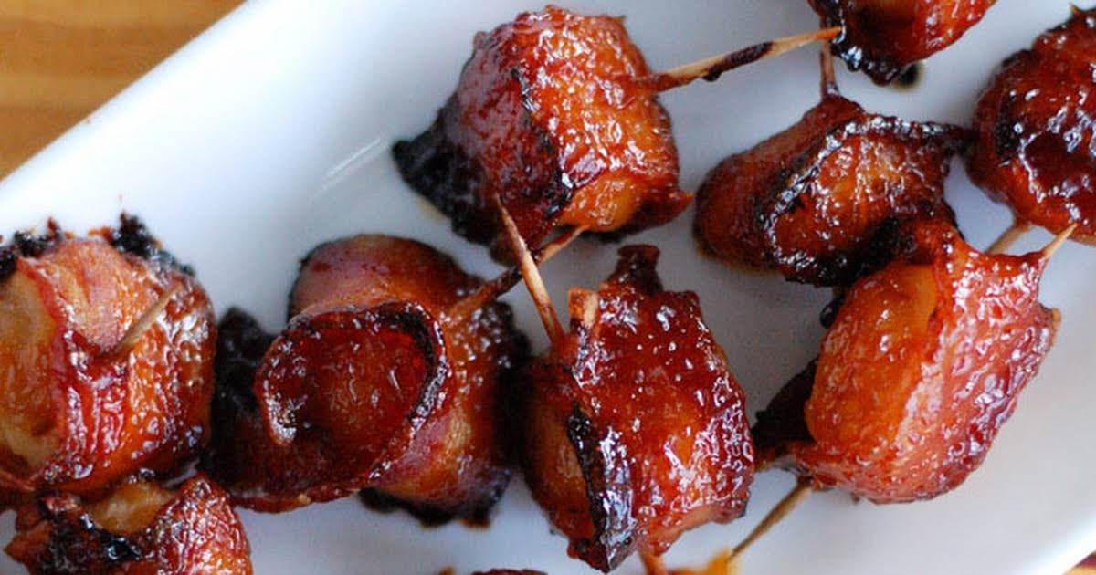 Bacon Wrapped Water Chestnuts Recipe Yummly Recipe