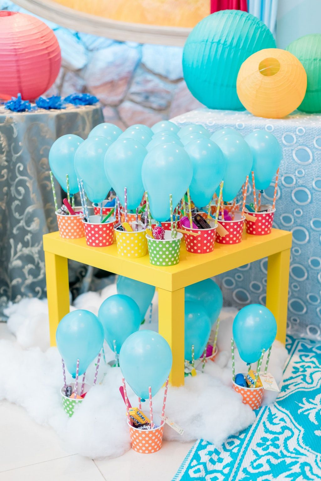 Events By Khadejah Hot Air Balloon 1st Birthday Photo