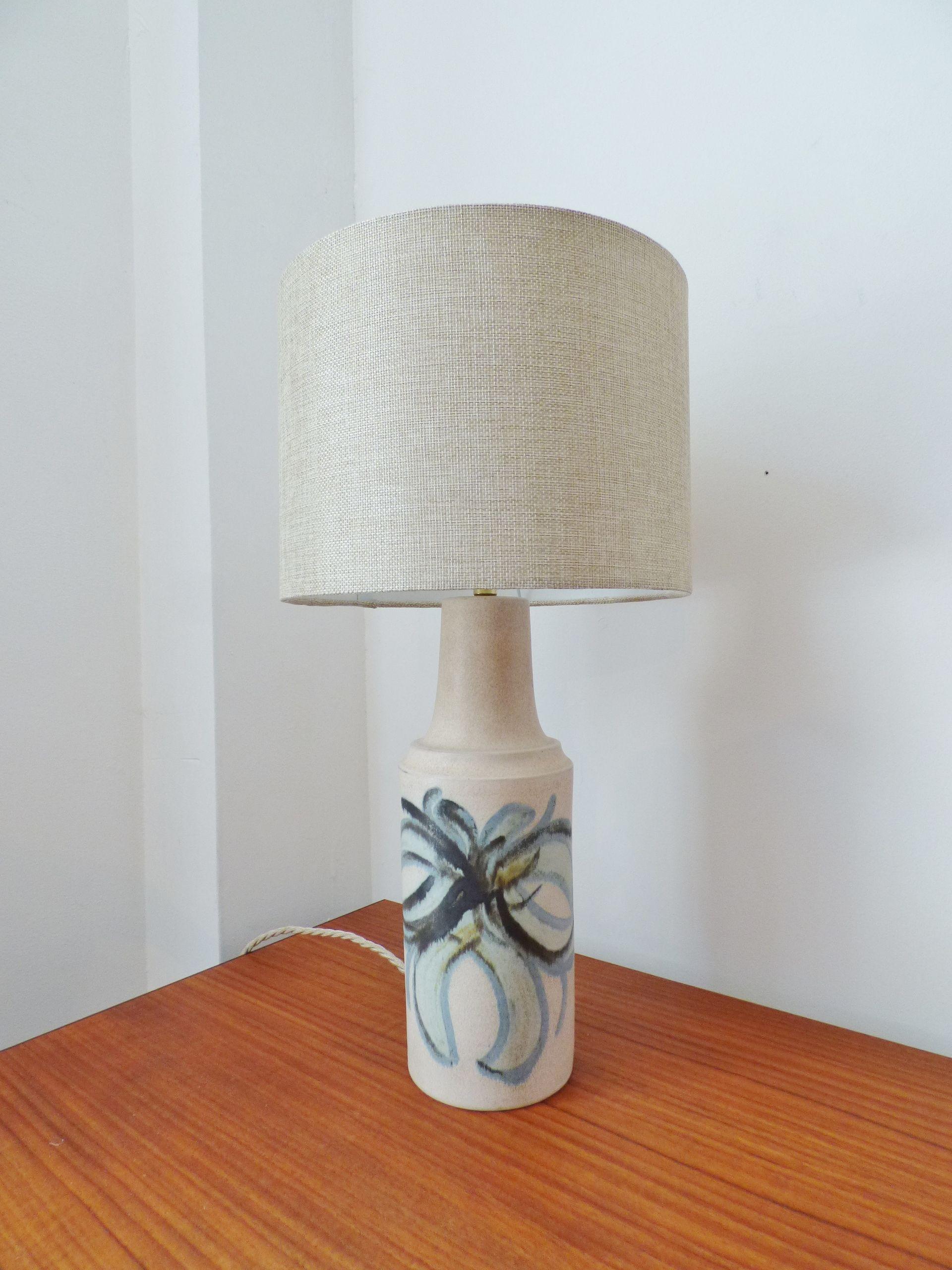 lighting and ceramics. Danish Ceramic Table Lamp By Okela Lighting And Ceramics L