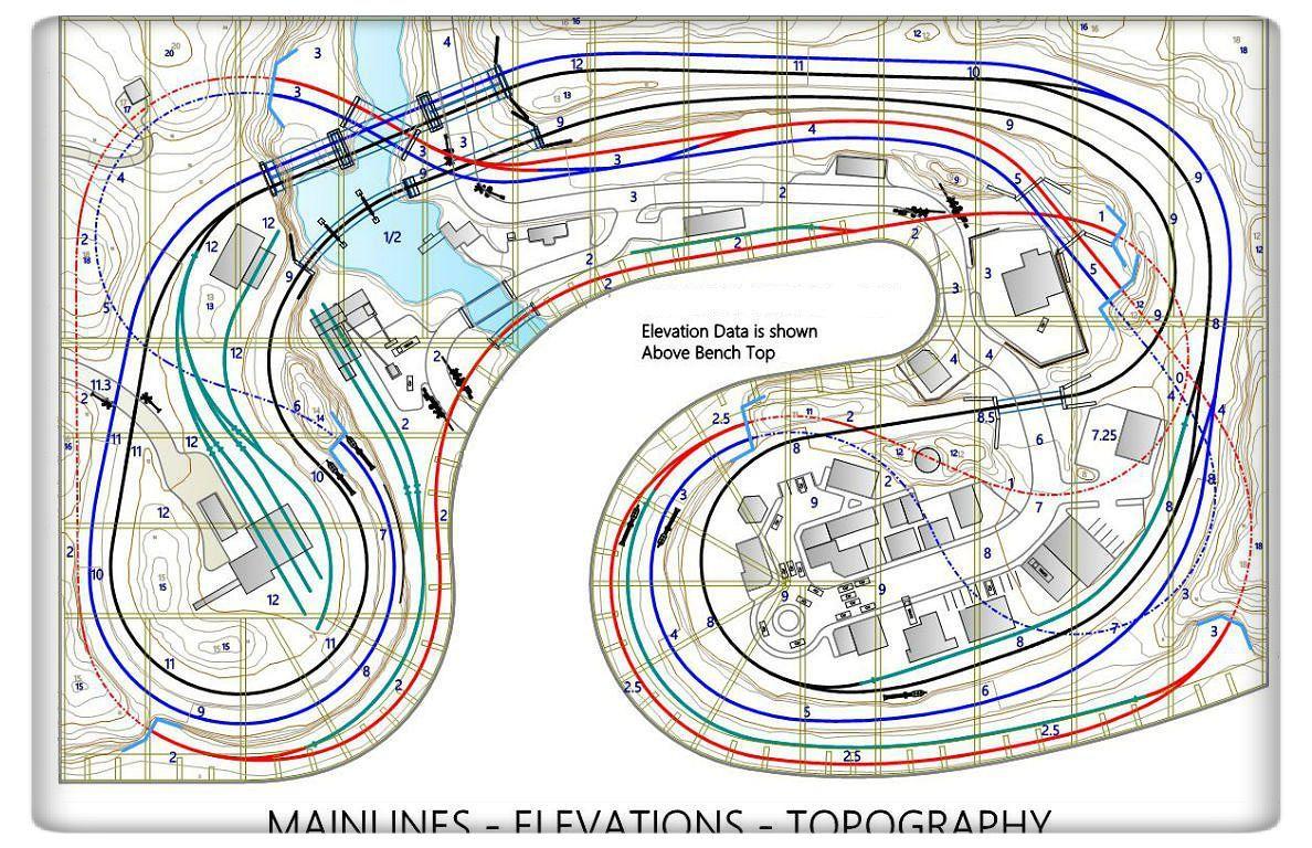 Model Railroad Layout Plans 910 … TRAINS Pinte…
