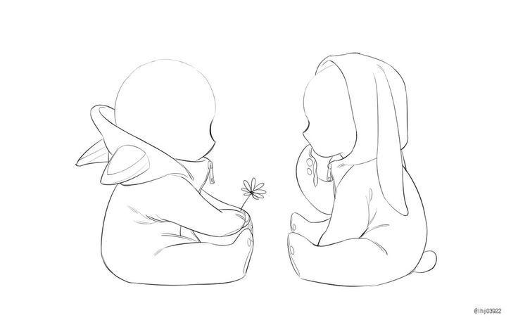 cuties babies u0026gt  u0026gt  u0026gt  i u0026 39 m i u0026 39 m love with drawing adorable babies in onesies