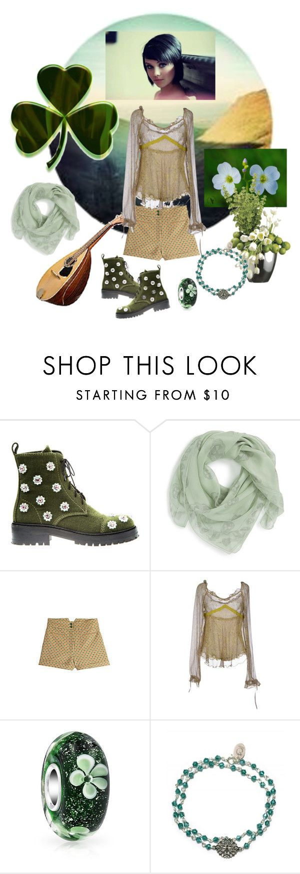 """THE IRISH CHARM"" by yesitsme123 ❤ liked on Polyvore featuring Anouki, Alexander McQueen, Anna Sui, SCERVINO STREET, Bling Jewelry and OSCAR Bijoux"