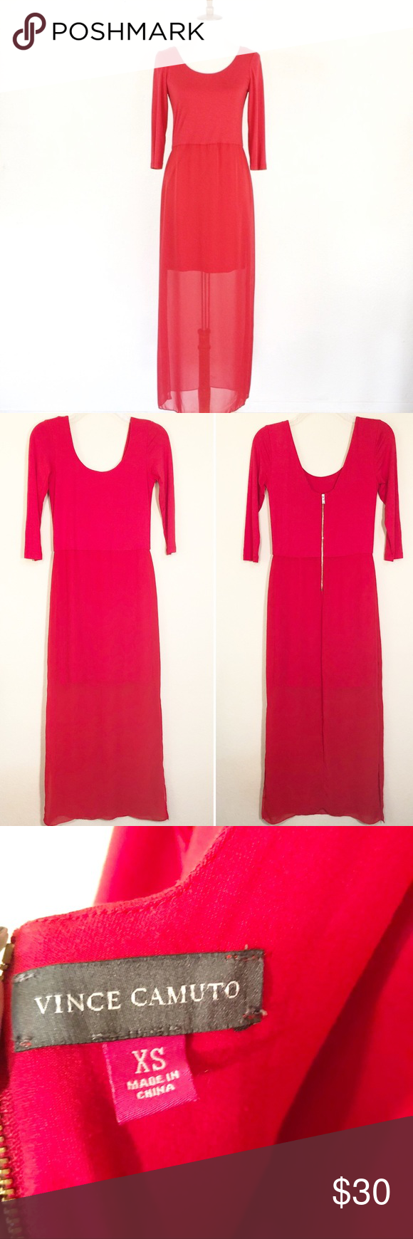 Vince Camuto Red Long Sleeve Maxi Dress Red Long Sleeve Maxi Dress Maxi Dress With Sleeves Long Sleeve Maxi Dress [ 1740 x 580 Pixel ]