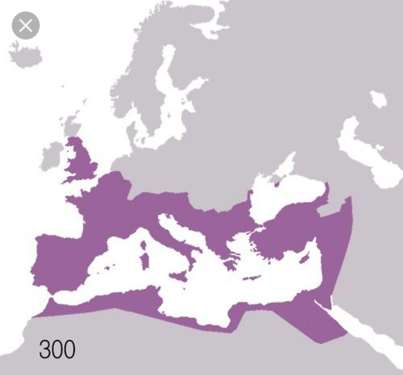 Roman Empire 300 Ad With Images Roman Empire Map Roman