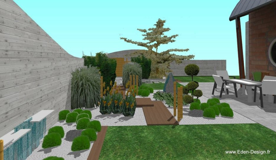 Eden Design Paysagiste-Réalise Votre Plan De Jardin, Piscine