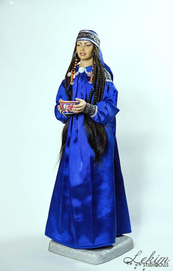 Для меня кукла в национальном костюме — это возможность ...