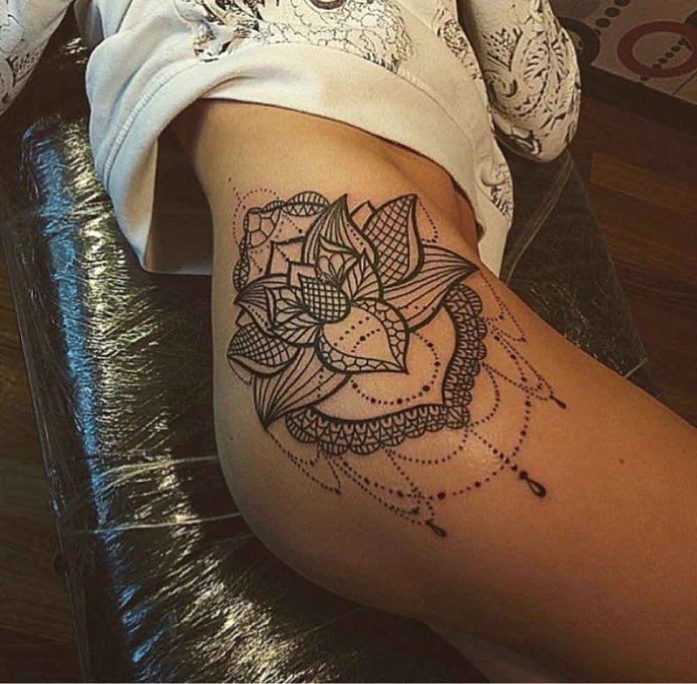 tattoos on | Hip tattoos women, Mandala hip tattoo, Tattoos