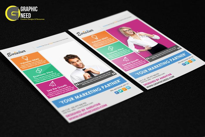 Download Multi Purpose Flyer Template Psd  Free  Amazing