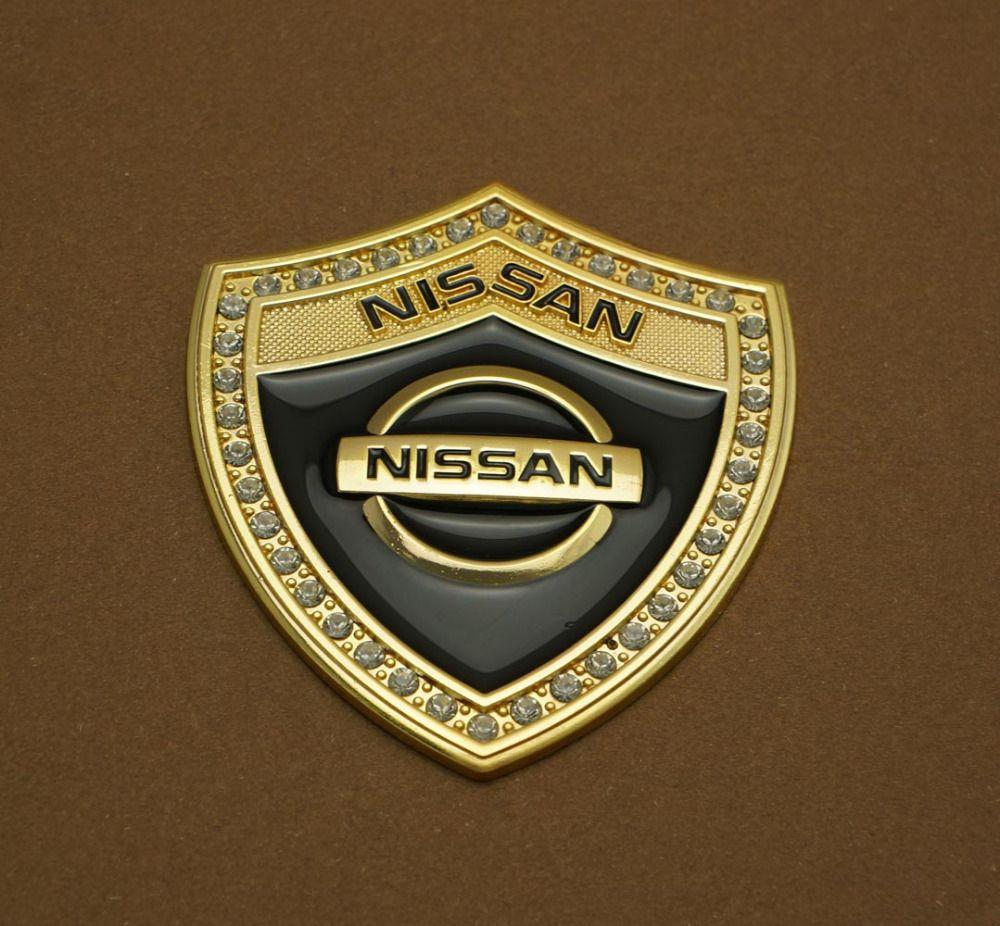Advanced Identity New 3D Car Metal Shield Sticker For