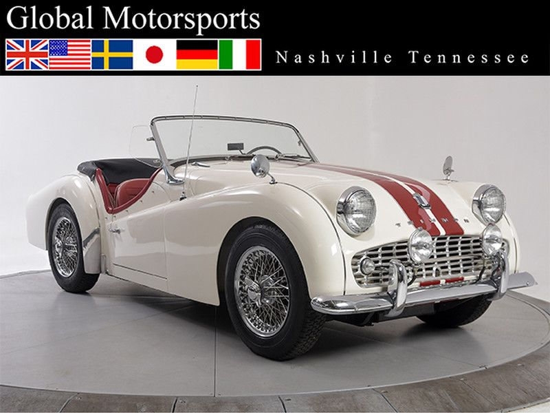 1959 Triumph TR3 Roadster in Nashville, Tennessee | triumphs ...