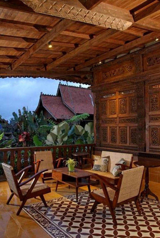 Desain Rumah Tradisional Sederhana Javanese Reclaimed Wooden House