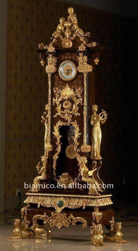 Luxury Antique Floor Clock Grandfather Time Pieces