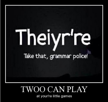 Image result wey dey for The grammar police troll