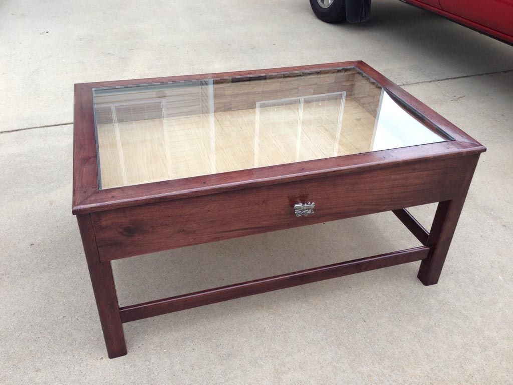 Glass Top Coffee Table With Storage 1
