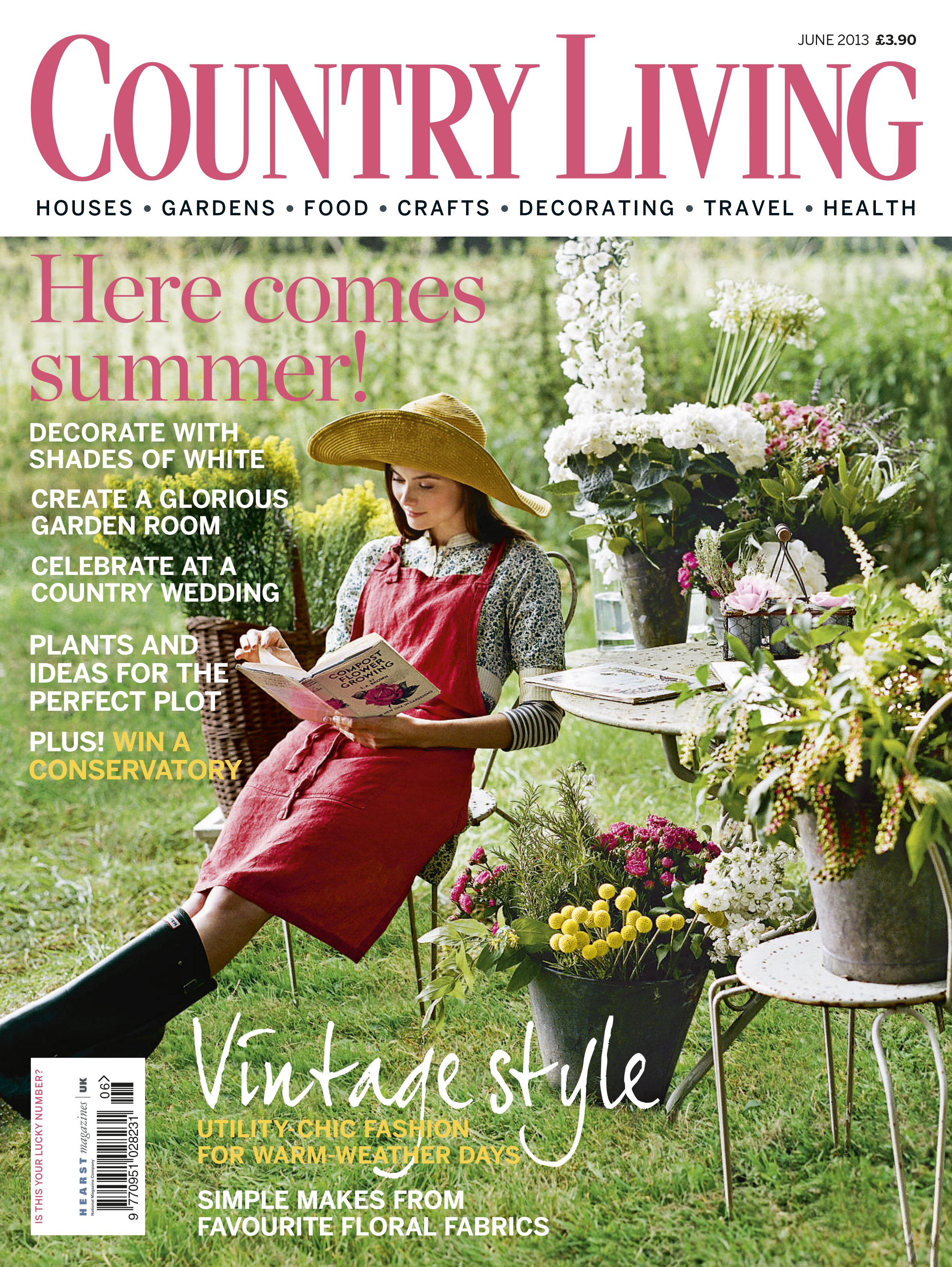 Country Living June 2013 Cover Countrylivinged Com Country Living Uk Country Living Magazine Country Living