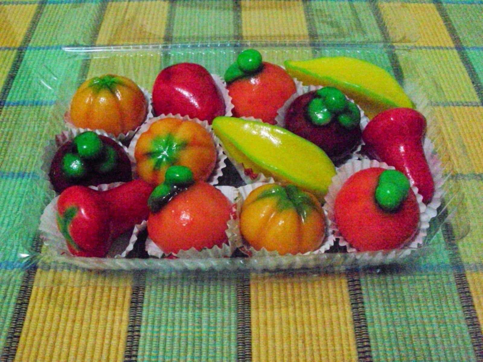 Foto Buah Mini Thailand Dalam Berbagai Macam Jenis Seperti Jeruk Belewah Belimbing Manggis Jambu Dan Yang Lainnya Informasi Lebih Lanjur Kue Buah Buah Kue