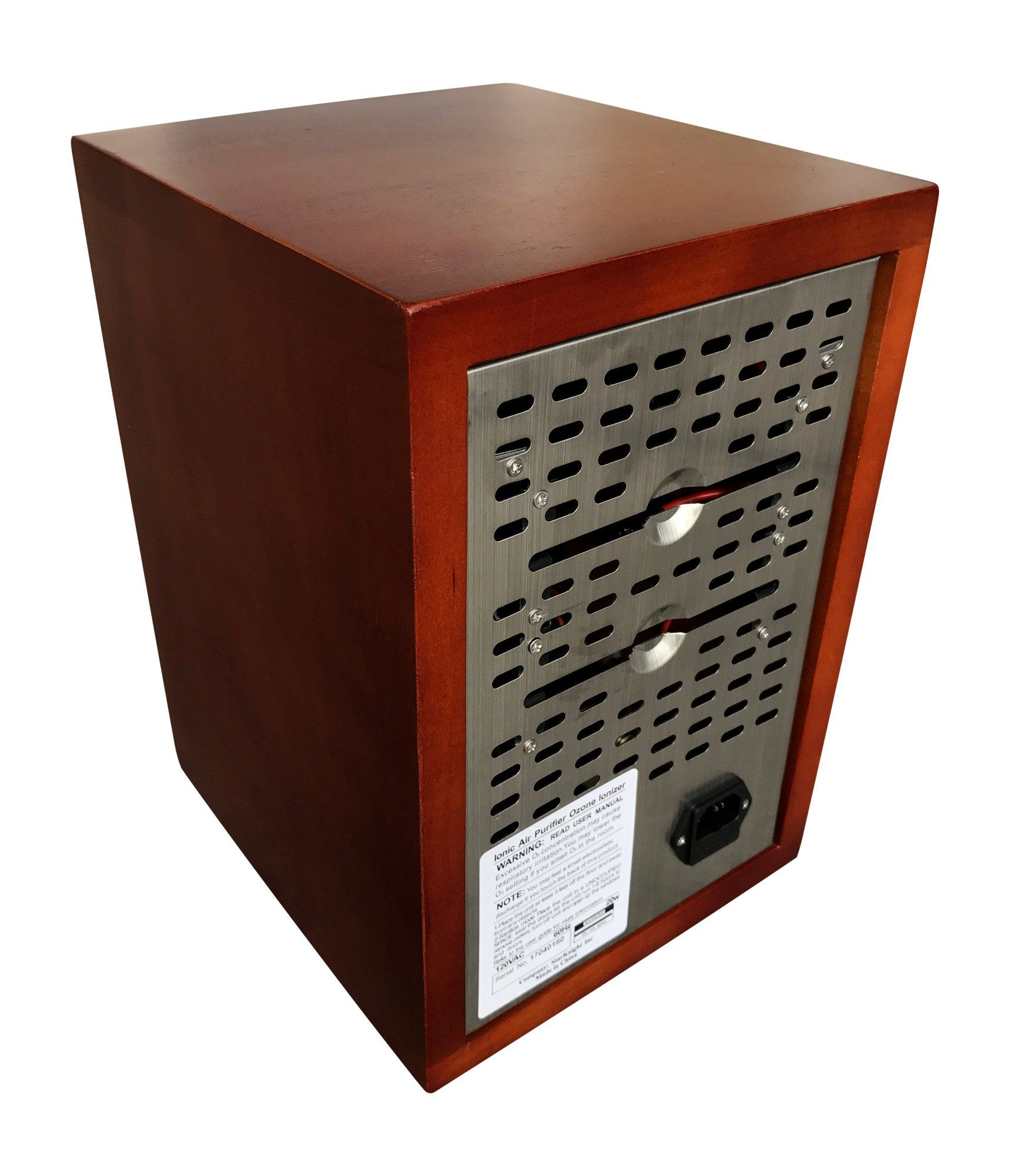 Mammoth Cherry Wood Ionic Ion and Ozone Generator Home Use