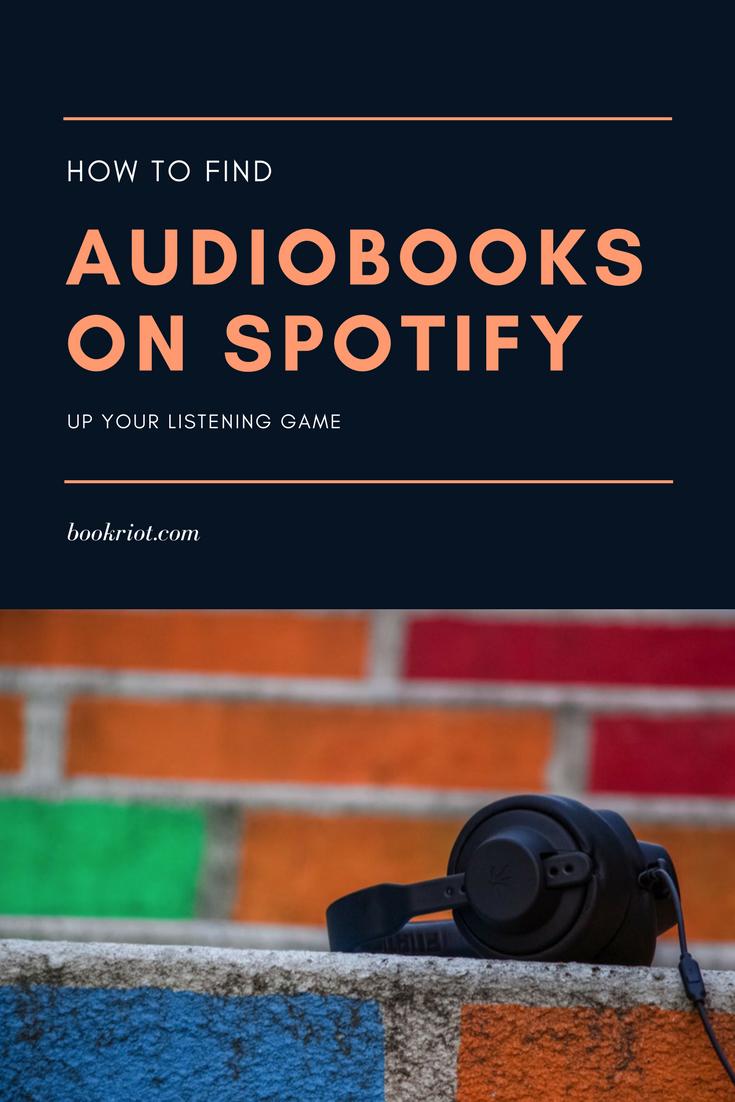 audio books on spotify