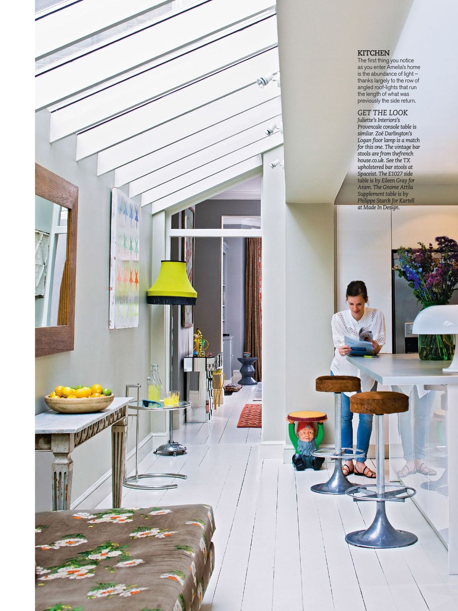 Be inspired by this colourful and contemporary south London home ...