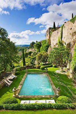 Provence France The Castle Complex Of La Carmejane In