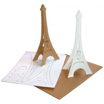 Make your own eiffel tower preschool around the world for Chaise pied tour eiffel