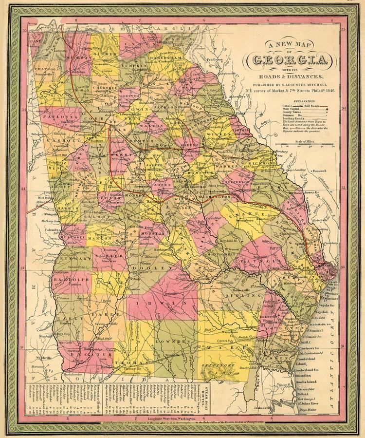 Flat Rock, Ga. | In the early 1800's the Flat Rock African ... on atlanta area, map of lithia springs ga, map of san antonio tx and surrounding area, map of athens ga and surrounding area,